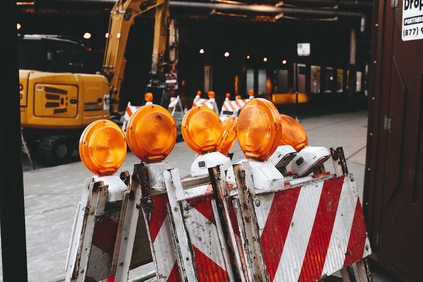 ¿Qué señales de seguridad existen para una obra?